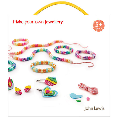 Buy John Lewis Make Your Own Jewellery Kit Online at johnlewis.com