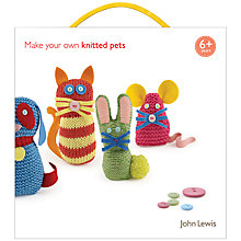 Buy John Lewis Knit Your Own Animals Kit Online at johnlewis.com