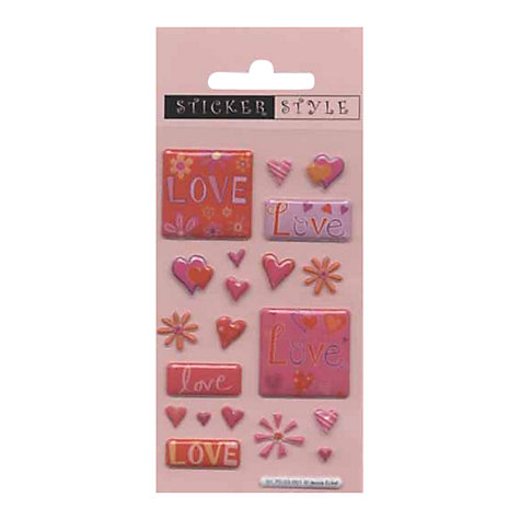 Buy Love Stickers Online at johnlewis.com