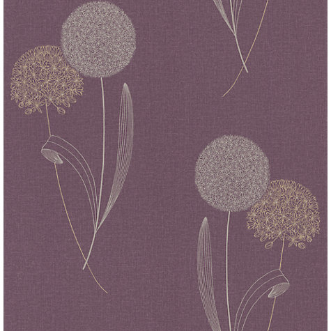 Buy Graham & Brown Alium Wallpaper Online at johnlewis.com