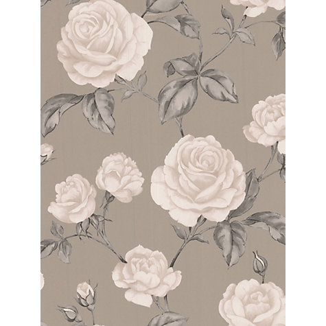 Buy Graham & Brown Countess Wallpaper, Taupe Online at johnlewis.com