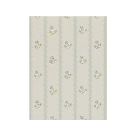 Buy Sanderson Amelie Wallpaper, Duck Egg/Blue, DHONAM103 Online at johnlewis.com