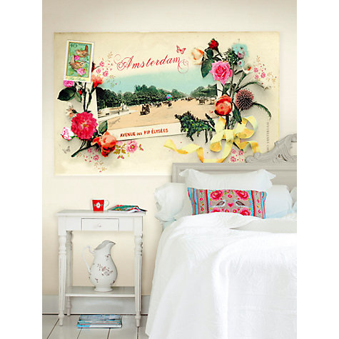 Buy PiP Studio Postcard From Amsterdam Wall Mural, Multi, 313118 Online at johnlewis.com
