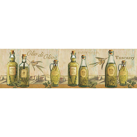 Buy Galerie Aquarius Olives Kitchen Wallpaper Border, G90061 Online at johnlewis.com