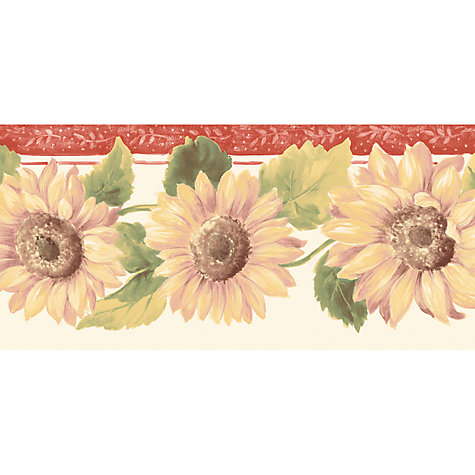 Buy Galerie Sunflower Kitchen Border, Kc78356 Online at johnlewis.com