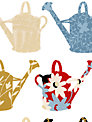 Galerie Watering Can Kitchen Wallpaper, Cu25966