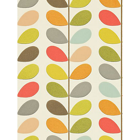 Buy Orla Kiely House for Harlequin Multi Stem Wallpaper Online at johnlewis.com