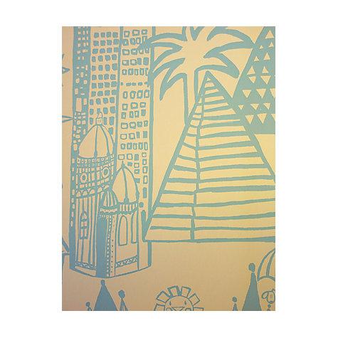 buy prestigious textiles panorama cobalt wallpaper john lewis. Black Bedroom Furniture Sets. Home Design Ideas