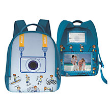 Buy Nikon S30 Kids Camera Backpack, Blue Online at johnlewis.com