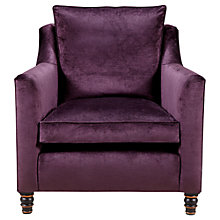 Buy Duresta Camden Armchair, Kentia in Amethyst Online at johnlewis.com