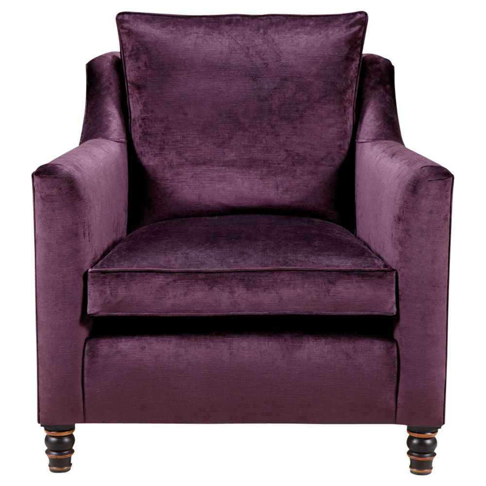 Duresta Camden Armchair, Kentia in Amethyst