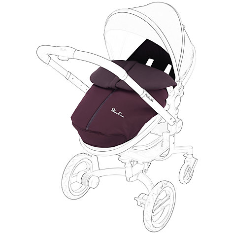 Buy Silver Cross Surf Footmuff, Aubergine Online at johnlewis.com