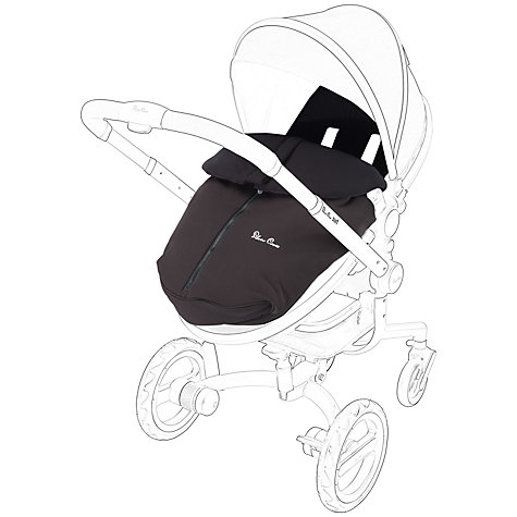 Buy Silver Cross Surf Footmuff, Black Online at johnlewis.com