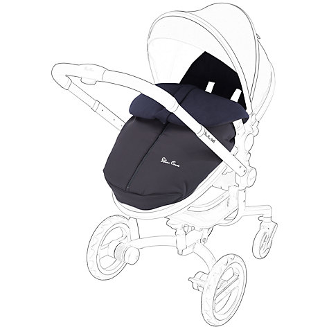 Buy Silver Cross Surf Footmuff, Navy Online at johnlewis.com