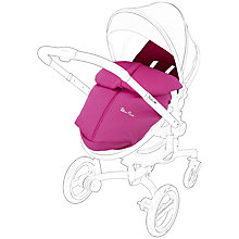 Buy Silver Cross Surf Footmuff, Pink Online at johnlewis.com