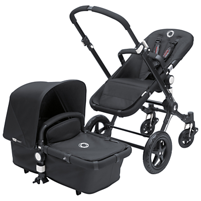 Bugaboo Cameleon3 Pushchair, All Black, Special Edition