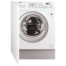 Buy AEG L61470BI Integrated Washing Machine, 7kg Load, A++ Energy Rating, 1400rpm Spin Online at johnlewis.com