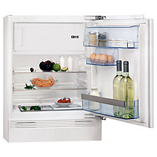 Buy AEG SKS58240F0 Integrated Built Under Fridge with Freezer Compartment, A+ Energy Rating, 60cm Wide Online at johnlewis.com