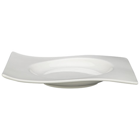 Buy Villeroy & Boch New Wave Soup Cup Saucer, Dia.15cm, White Online at johnlewis.com