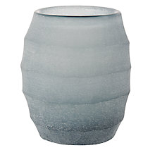 Buy Donna Karan Artisan Glass Glacier Votive, Carved Online at johnlewis.com