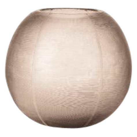 Buy Donna Karan Artisan Glass Icicle Round Globe Vase, Etched Online at johnlewis.com