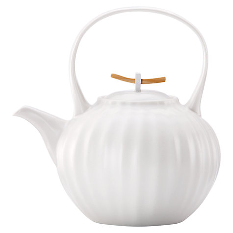 Buy Donna Karan Porcelain Touch Teapot, 1.2L Online at johnlewis.com