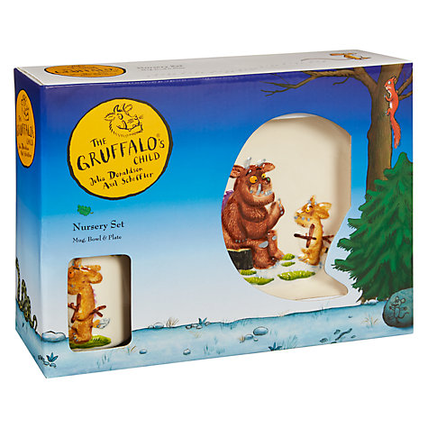 Buy Dartington Crystal The Gruffalo Child Dinner Set Online at johnlewis.com