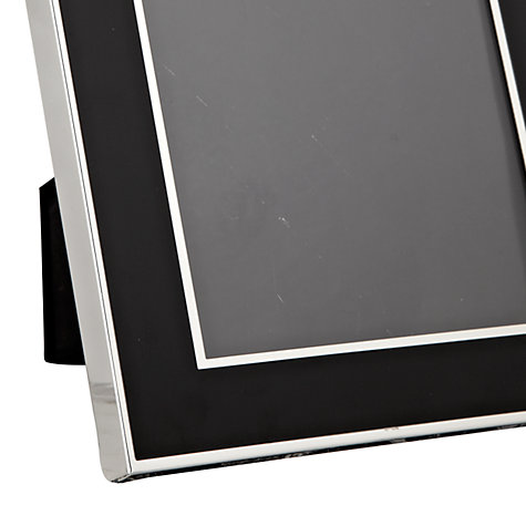 "Buy John Lewis Dart Silver Plated Photo Frame, 5 x 7"" (13 x 18cm) Online at johnlewis.com"
