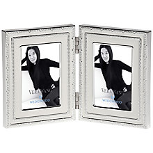 Buy Vera Wang for Wedgwood With Love Folding Frame, Blanc Online at johnlewis.com