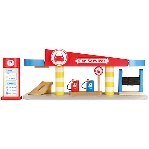 Buy John Lewis Wooden Garage Playset Online at johnlewis.com
