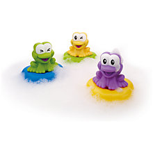Buy John Lewis Floating Frog Symphony Bath Toy Online at johnlewis.com