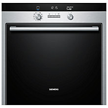 Buy Siemens HB75GB550B Single Electric Oven, Stainless Steel Online at johnlewis.com