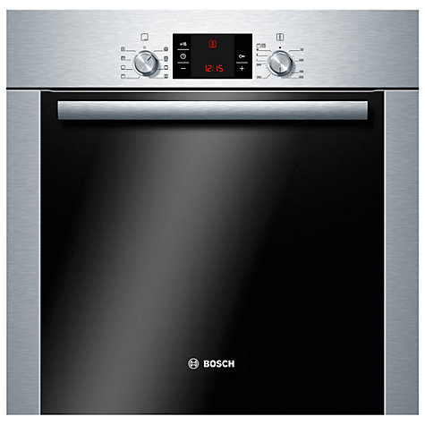 Buy Bosch Avantixx HBA63B251B Single Electric Oven, Stainless Steel Online at johnlewis.com