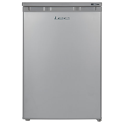 Buy LEC U5511S Freezer, Silver Online at johnlewis.com