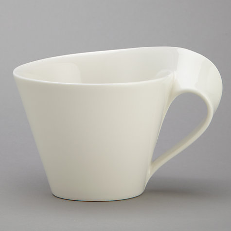 Buy Villeroy & Boch New Wave Cappuccino Cup, 0.25L, White Online at johnlewis.com