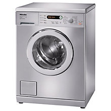 Buy Miele W5748 Washing Machine, 7kg Load, A+++ Energy Rating, 1400rpm Spin, Stainless Steel Online at johnlewis.com