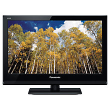 "Buy Panasonic Viera TX-L19X5B HD 720p LED TV, 19"" with Freeview HD Online at johnlewis.com"