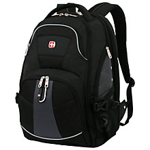 "Buy Wenger 17"" ScanSmart Backpack Online at johnlewis.com"