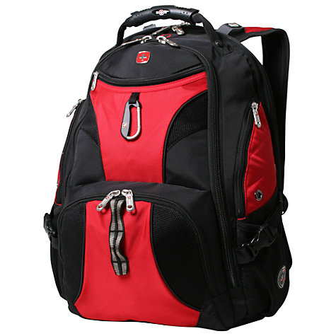 "Buy Wenger 17"" ScanSmart Backpack, Black Online at johnlewis.com"