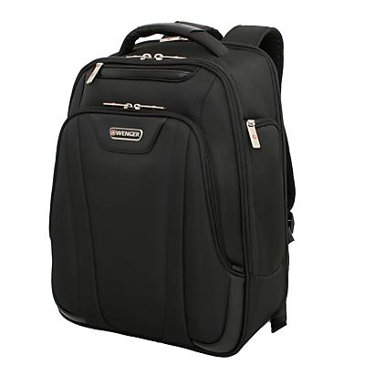 """Image of Wenger Lite 17"""" Laptop Backpack, Black"""