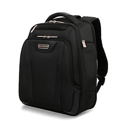 """Image of Wenger Lite 15"""" Laptop Backpack, Black"""