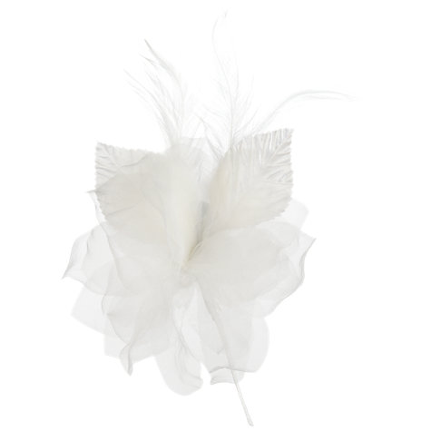 Buy Garden Rose Corsage, White Online at johnlewis.com