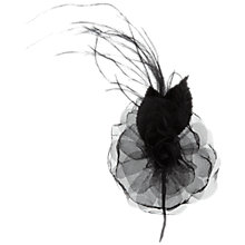 Buy Organza Rose and Feather Corsage Online at johnlewis.com