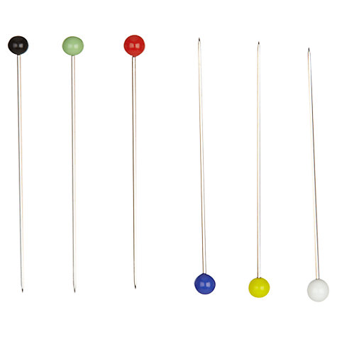 Buy John Lewis Heritage Glass Headed Pins, Pack of 40 Online at johnlewis.com
