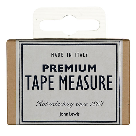Buy John Lewis Heritage Premium Tape Measure Online at johnlewis.com