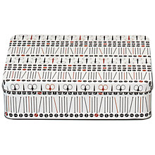 Buy John Lewis Heritage Rectangular Sewing Tin, Medium Online at johnlewis.com