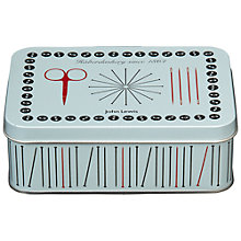 Buy John Lewis Heritage Rectangular Sewing Tin, Small Online at johnlewis.com