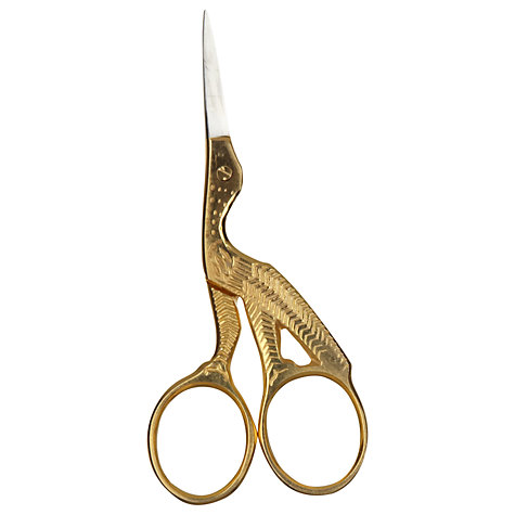 Buy John Lewis Heritage Stork Embroidery Scissors Online at johnlewis.com