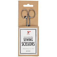Buy John Lewis Heritage Pin Hammered Sewing Scissors Online at johnlewis.com