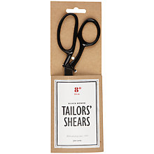 Buy John Lewis Heritage Tailors' Shears, Black Bowed Online at johnlewis.com